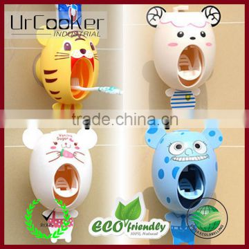 Animal Toothbrush Dispensers,kids Hands Free Toothpaste Dispenser