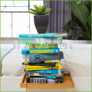 Bamboo bunk & loft bed accessory shelf Homex_BSCI Factory