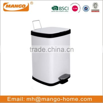 New Arrival Colorful Push Garbage Bin