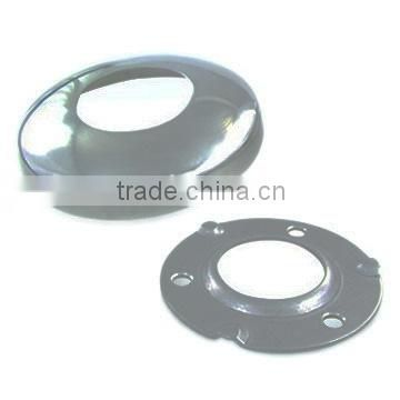 SS/Stainless Steel Round Base Plate With Cover