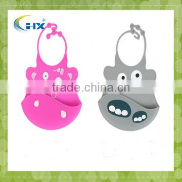 Food Grade Cute Baby Pouchs,Waterproof Promotinal Gift Nice Silicone Baby Bibs,Kids Silicone Bellyband