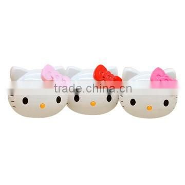 Promotional Gift Hello Kitty Dual- USB Power Bank 5200mAh From Chinese Factory