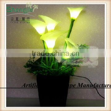 led calla lily lighted flower bonsai,high simulation led flowers