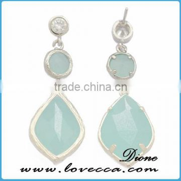 Wholesale wedding party dangling bridal earrings