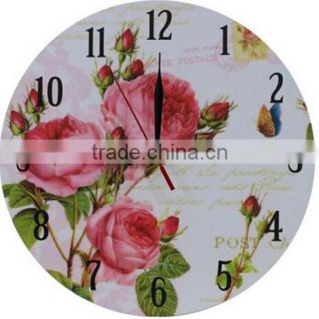 decorative wholesale wooden wall clock