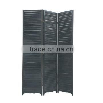 room divider screen with classic black color