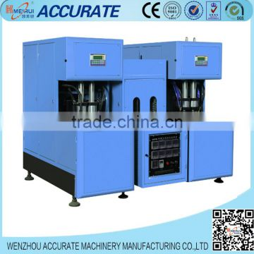 Manual type plastic bottle making machinery in Zhejiang