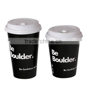 Fast Food Restaurant Used Takeaway Single Wall PE Paper Cup for Fruit Juice