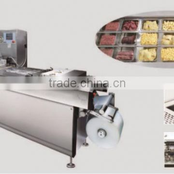 Stainless Steel Model Auto aluminum foil vacuum packing machine