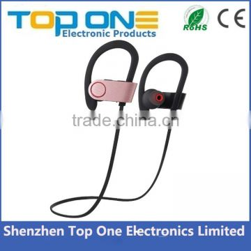 2016 In-Ear Sports IPX5 Waterproof bluetooth headphone, sport stereo Noise-Cancelling bluetooth earbud