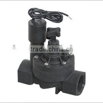 1'' electric plastic irrigation german solenoid valve