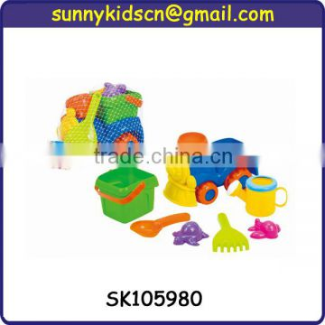 hot selling plastic sand beach toy truck for children