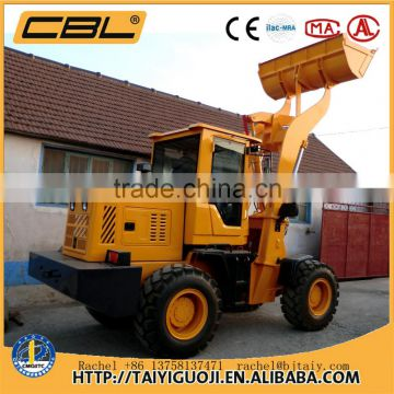 ZL-08 4x4 compact tractor with loader and backhoe