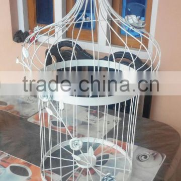 Decorative metal cages for wedding & garden decoration
