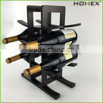Wine bottle holder countertop unique wine racks Homex BSCI/Factory