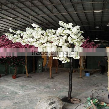 Decorative arch artificial tree fake pink cherry blossom trees