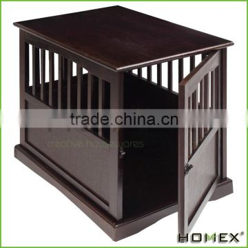 Wood Large Pet Crate Pet Cage Wooden End Table Homex_BSCI Factory