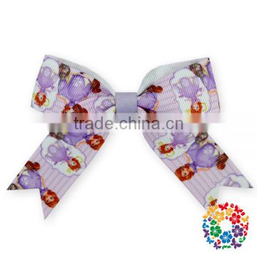 Fashion Large Hair Bows With Clips For Childrens Handmade Grosgrain Ribbon Hairbow Baby Hair Bow Accessories
