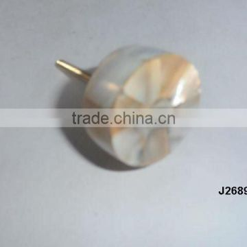 Mother of pearl knob available in other colour and patterns