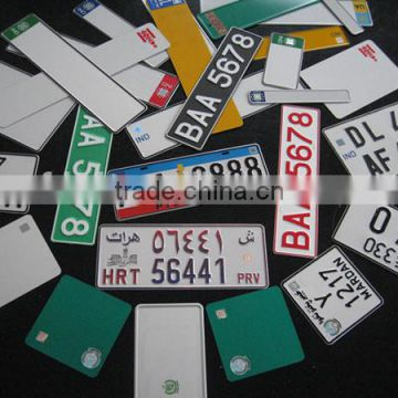 car plate/number plate/aluminum license plate