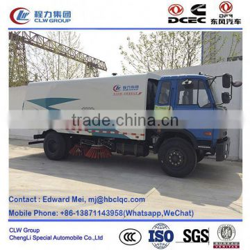 dongfeng 4*2 4*4 type 190hp 8 ton road cleaning car