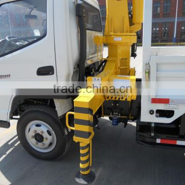 QYS8t cheap small crane truck hoisting truck for sale