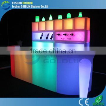Hot sale PE plastic bar counter professional price GKT-021BC