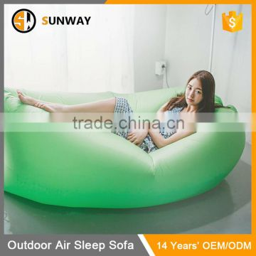 High Quality Waterproof Inflatable Outdoor Sofa With Pocket