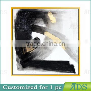 Wholesale Popular Designed Canvas Printed Painting with Gold Foil