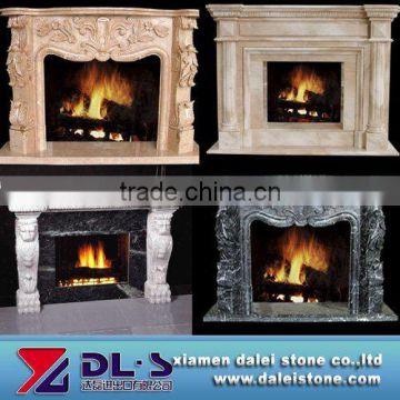 Chinese granite fireplace