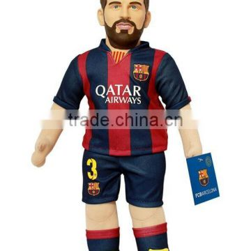 make custom action figure for sports,pvc lifelike football figure,collectale action figureb