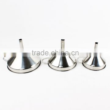 3-Piece Stainless Steel Funnel Set