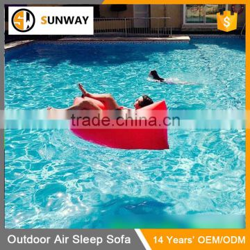 Factory Wholesale Nylon Hangout Inflatable Sleeping Bag