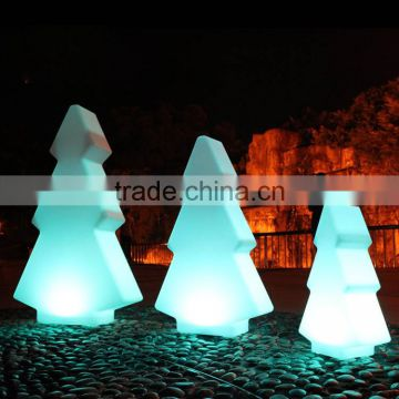 outdoor color changed christmas tree shaped light