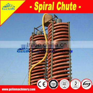 Benefication iron spiral