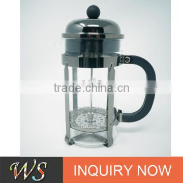 WSCHSY128 french press coffee maker stainless steel french press
