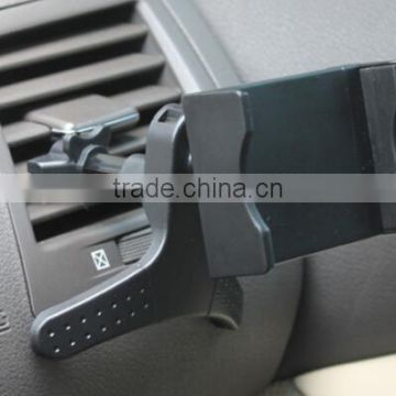 black magnetic car phone holder