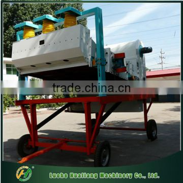 High efficiency automatic movable French bean cleaning machinery