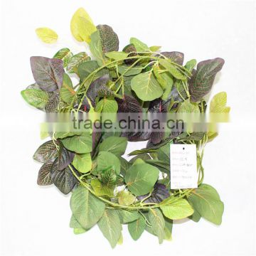 vertical garden wall hanging 240cm Long cheap make fake recycling plastic PE artificial plant EMX10 3004