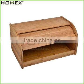 Healthy Bamboo Wooden Bread Boxes/Homex_Factory