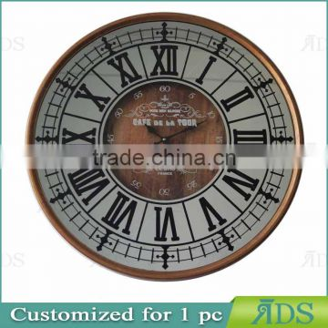wooden clock / colorful wall clock ADS050026