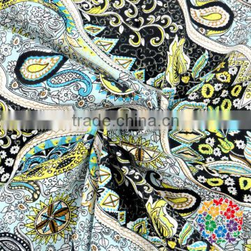Eco-friendly Organic Cotton Printed Wholesale 100% Cotton Cloth Fabric For Sheeting
