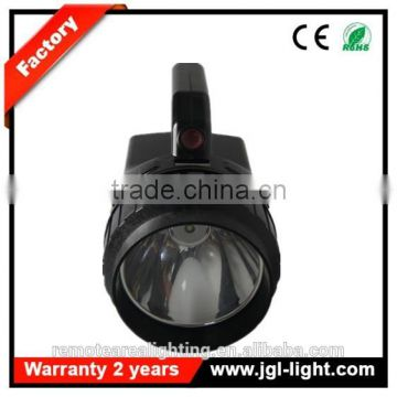 Railway battery handheld spotlight CREE T6 10W A360 heavy duty spotlight