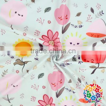 Baby Girls Swimming Clothes Fabric Doughnut Printed Swimsuit Nylon Fabric