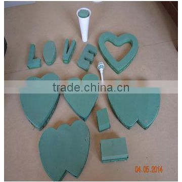 factory price love frame wet floral foam wholesale