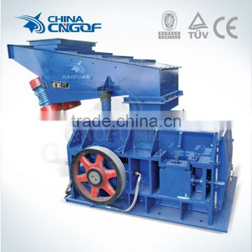 Price of teethed roller coal crusher made in China