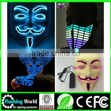 Music activated factory manufacture factory wholesale design masquerade party mask