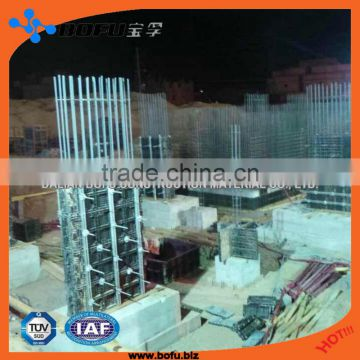 Chinese plastic modular formwork for construction and building