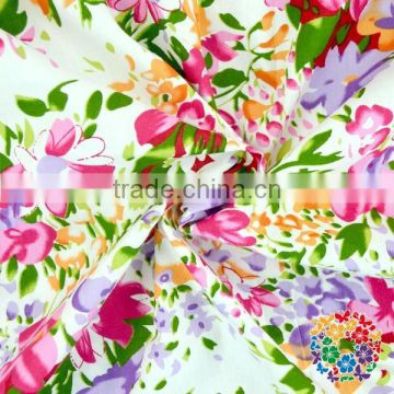Floral fabric,sweet flower cotton fabric, colorful 100% Cotton Fabric Fat Quarter
