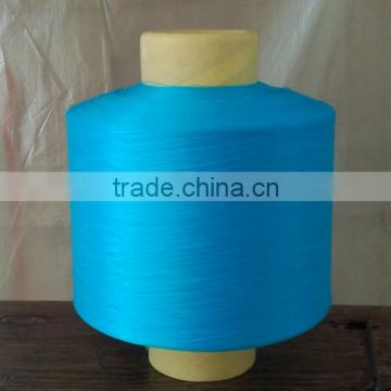 High Elastic Dope Dyed Colour Polypropylene/PP FDY/DTY Yarn 300D for Woven Fabric